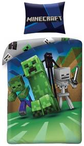 HALANTEX Obliečky Minecraft Monsters Bavlna, 140/200, 70/90 cm