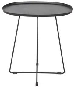 OTIS BLACK príručný stolík