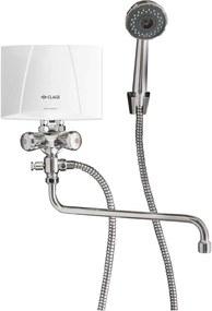 CLAGE Ohrievač vody M4 / BGU 4,4W / 230V + sprchová batéria kombi 1500-17314