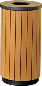 Vonkajší odpadkový kôš Murray, 42 L, hnedý