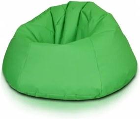 Ecopuf Sedací vak ECOPUF - RELAX - polyestér NC1 - Svetlo zelená