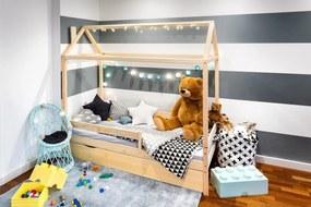 Detská posteľ Ourbaby Paul prírodná 180x80 cm