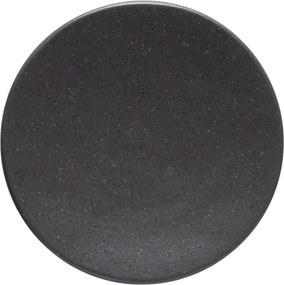 Sivý kameninový podnos Costa Nova Roda Ardosia, ⌀ 16 cm