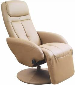 Relaxačné kreslo OPTIMA béžové Halmar