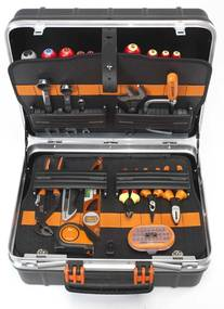 BAHCO Pevný kufrík na náradie s 55 nástrojmi 4750RCW011BNL