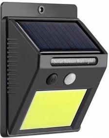 ISO Solárne vonkajšie 48 LED COB osvetlenie s pohybovým senzorom, 8814