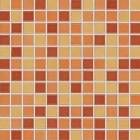 Mozaika Rako Allegro oranžová 30x30 cm lesk GDM02044.1
