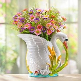 Magnet 3Pagen Kvetináč Labuť