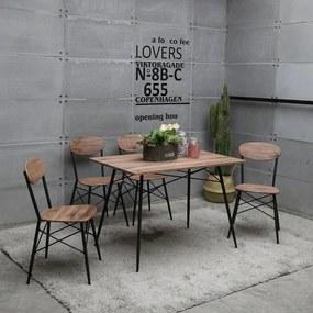 Jedálenský set 4x stolička + stôl Catini STEFAN