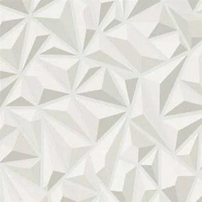 Vliesové tapety na stenu Mix Up 6478-10, rozměr 10,05 m x 0,53 cm, 3D jehlany svetlo sivé, Erismann