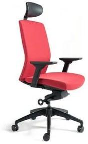 Kancelárska stolička J2 SP, červená