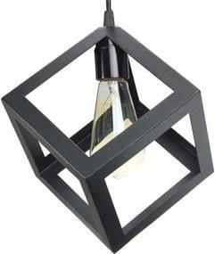 BRG LED stropné svietidlo B7053C E27 - čierna