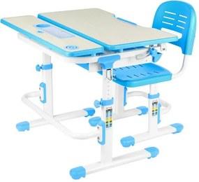 FD Rastúci detský písací stôl so stoličkou Laventa Farba: Modrá