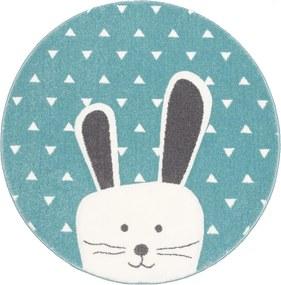 Sintelon koberce Kusový koberec Pastel Kids 52/KVK kruh - 120x120 (průměr) kruh cm