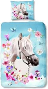 Detské bavlnené obliečky Good Morning My Beauty, 140 × 200 cm