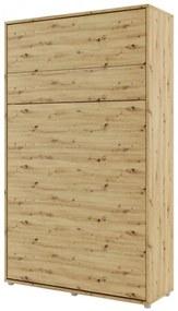 Sconto Posteľ BED CONCEPT 1 dub artisan, 120x200 cm