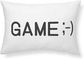 TODAY KIDS semišový polštářek Geek Game 30x50 cm