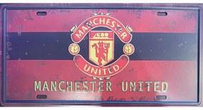 Ceduľa značka Manchester United