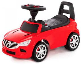 MULTISTORE Dětské odrážedlo SuperCar III červené