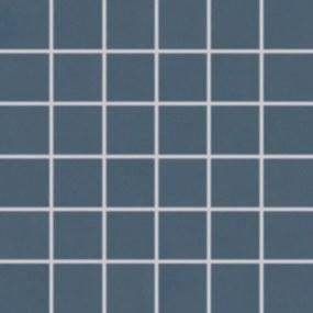 Mozaika Rako Up tmavo modrá 30x30 cm lesk WDM05511.1