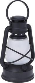 Lampáš s reálnym plameňom a časovačom Mervin, 22 cm