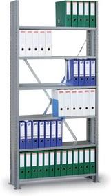 Archivačný regál s bočnými stenami Variant, 2190 x 1000 x 300, základný