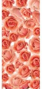 Dverová fototapeta - DV0633 - Ruže 91cm x 211cm - Vliesová fototapeta