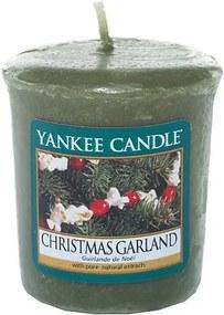Sviečka Yankee Candle Vianočný veniec, 49 g