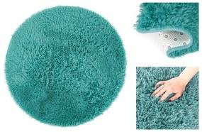 Okrúhly koberec AmeliaHome Karvag tyrkysový