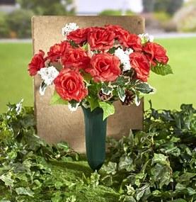 Magnet 3Pagen Vianočná kytica