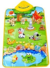 ISO Detská hracia podložka - zvieracie farma, 4690