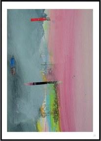 Abstraktní obraz MOMENT, 500x700 mm MOM-500x700 Artylist