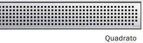 ACO ShowerDrain E odtokový rošt 1000 mm, dizajn Quadrato 0153.73.62