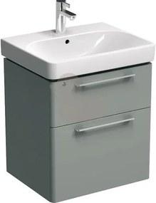 Kúpeľňová skrinka pod umývadlo KOLO Traffic 56,8x62,5x46,1 cm platinovo šedá 89434000