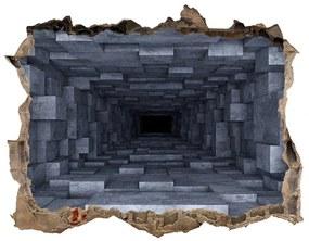Díra 3D fototapeta nálepka Tunel nd-k-74393146