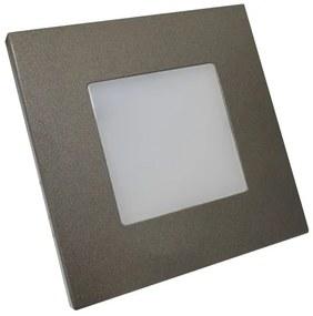 EMITHOR 48305 LED Svietidlo na stenu STEP LIGHT LED 1W, 60lm, 4000K, Antracit