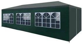 vidaXL Párty stan 3x9 m, zelený