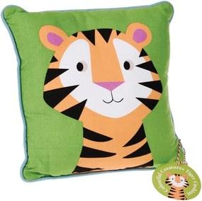 Vankúš Rex London Jim The Tiger, 30 × 30 cm