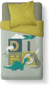 TODAY KIDS povlečení 100% bavlna Dino 140x200/63x63 cm