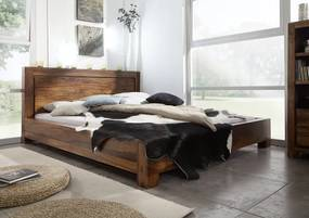 Masiv24 - DAKOTA Masívny indický palisander, posteľ 140x200