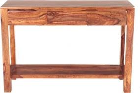 Konzolový stolík Gani 130x35x76 indický masív palisander Only stain