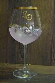 Výročný pohár na 90. narodeniny VÍNO - ružový