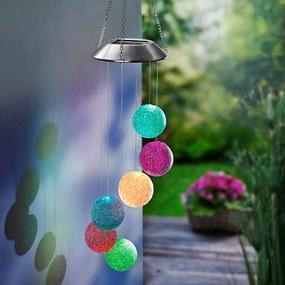 Solárna závesná dekorácia Hra farieb