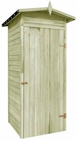 Záhradný prístrešok z impregnovanej borovice, 100x100x210 cm
