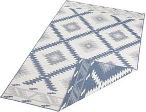 Bougari - Hanse Home koberce Kusový koberec Twin Supreme 103430 Malibu blue creme - 80x150 cm