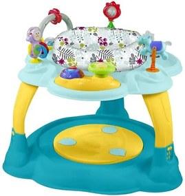BABY MIX Nezaradené Multifunkčný detský stolček Baby Mix modro-žltý Podľa obrázku |