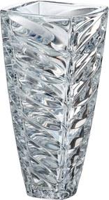 Crystalite Bohemia sklenená váza Facet 30 CM