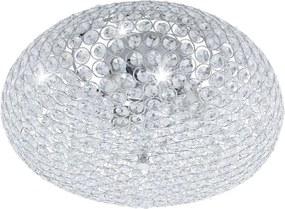 Krištáľové svietidlo EGLO CLEMENTE chróm E27 95285