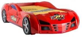 GPS RACER postel červená