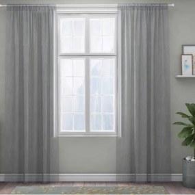 XPOSE ® Záclona IRIS - světle šedá 150x180